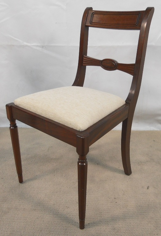 Chair antique chairs uk antique desk chairs antique dining - Set Of Four Antique Georgian Style Mahogany Dining Chairs